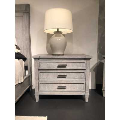 Willow Large 3 Drawer Bachelor's Chests Color: Pewter - Perigold