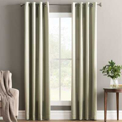 Wayfair Basics Solid Room Darkening Grommet Curtain Panel - Birch Lane