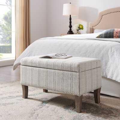 Pierro Upholstered Flip top Storage Bench - Wayfair