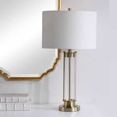 TABLE LAMP - GOLDEN BRASS - Hudsonhill Foundry