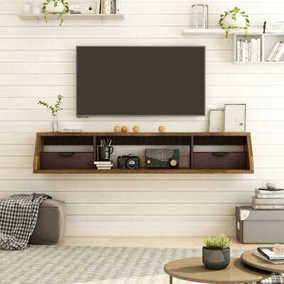 """Suazo Floating TV Stand for TVs up to 60"""" - Wayfair"""