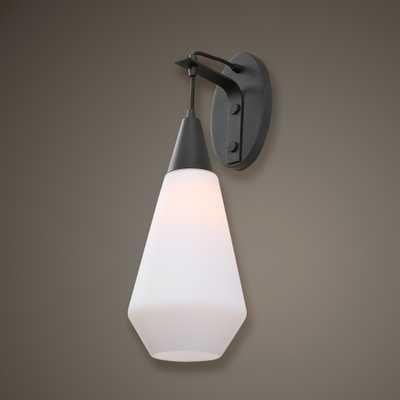 Eichler 1 Light Black Sconce - Hudsonhill Foundry