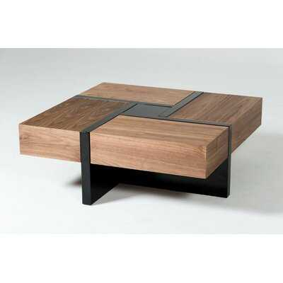 Lipscomb Makai Coffee Table with Storage - AllModern