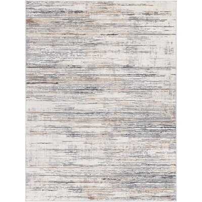 Morella Abstract Gray Area Rug - Wayfair