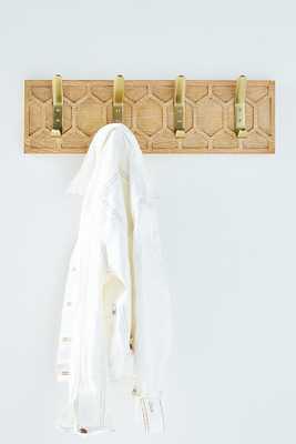 Honeycomb Hook Rack By Anthropologie in Beige - Anthropologie
