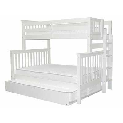 Treva Twin Over Full Bunk Bed with Trundle - Wayfair