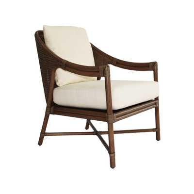 Linwood Lounge Chair in Cinnamon - Caravan Living