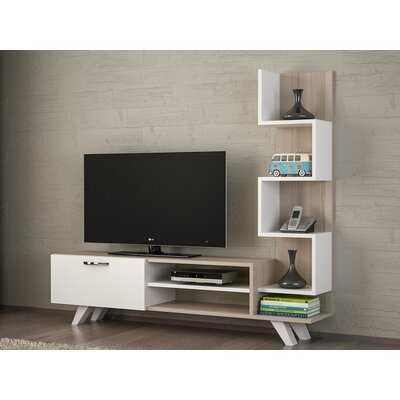 "Rheba Entertainment Center for TVs up to 55"" - Wayfair"