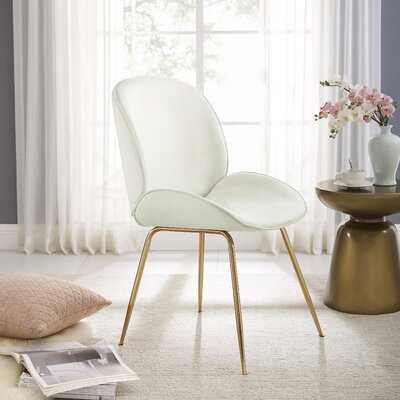 Velvet Side Chair - Wayfair
