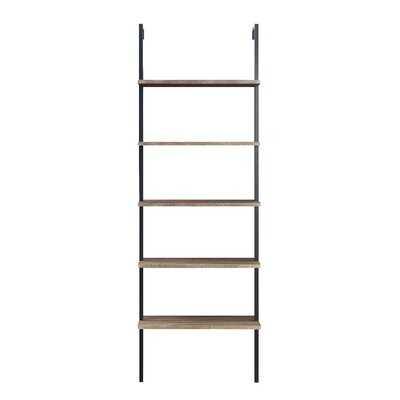 72'' H x 24'' W Metal Ladder Bookcase - Wayfair