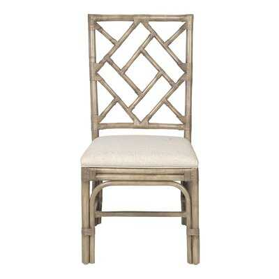 Josef Cross Back Side Chair - Wayfair