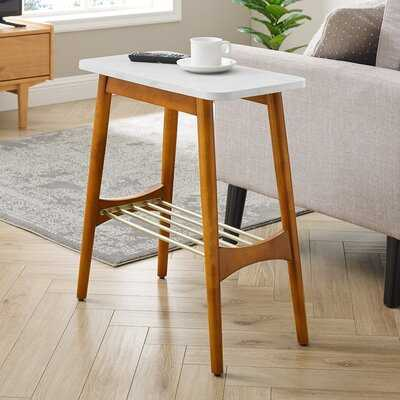 Edmondson End Table with Storage - Wayfair