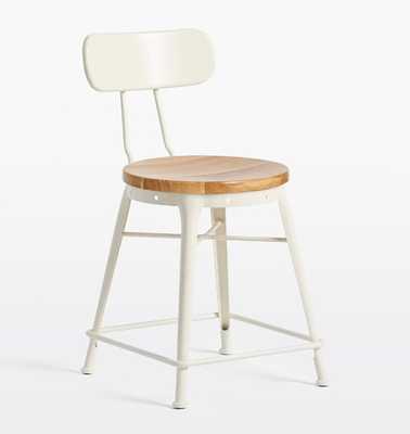 Cobb Table Stool with Back - Rejuvenation