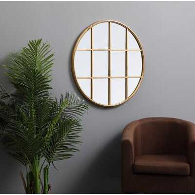 Menton Metal Modern and Contemporary Beveled Accent Mirror - Wayfair
