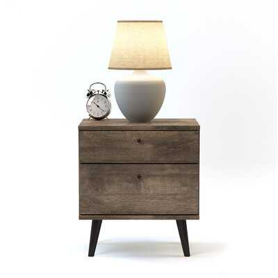 Noah 2 Drawer Nightstand - AllModern