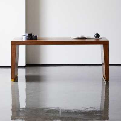 Elemental Large Wood Desk-Table - CB2