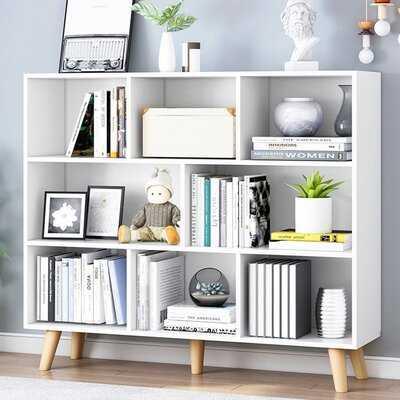 """Stiles 42.1"""" H x 39.4"""" W Standard Bookcase - Wayfair"""