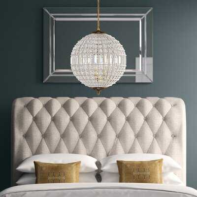 Nazareth 3 - Light Crystal Globe Chandelier - Wayfair