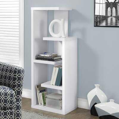 Toto Kiley Geometric Bookcase - Wayfair