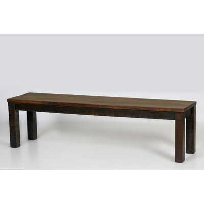 "Mccree Wooden Dining Bench 67"" - Wayfair"