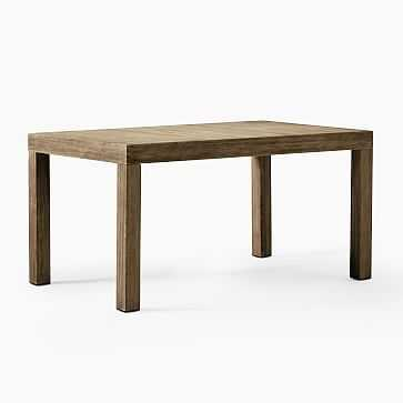"Portside Outdoor 58"" Dining Table, Driftwood - West Elm"