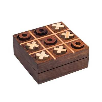 Rosewood Tic Tac Toe, Small - West Elm