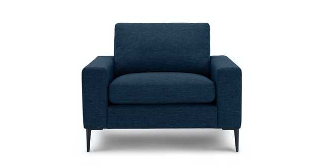 Nova Twilight Blue Armchair - Article