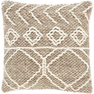 Morell Geometric Throw Pillow in , No Fill - AllModern