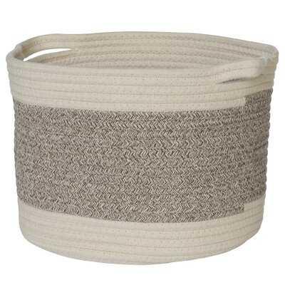 Stripe Fabric Basket - Wayfair