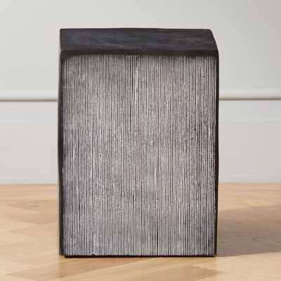 Amaro Small Cast Aluminum Side Table - CB2