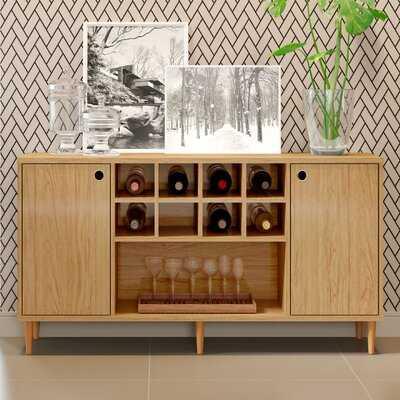 Posner Bar with Wine Storage - Wayfair