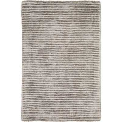 Esser Graphite Iron Ore Medium Gray Area Rug - Wayfair