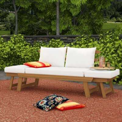 Beal Patio Daybed with Cushions - Wayfair