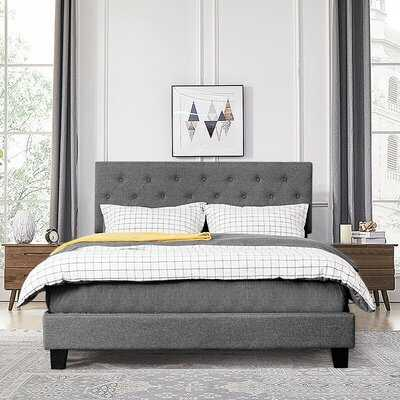 Ayotomiwa Queen Tufted Upholstered Standard Bed - Wayfair