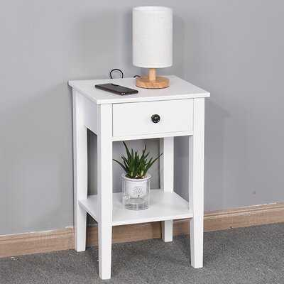 Ammamaria End Table with Storage - Wayfair