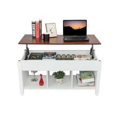 Pinkley Lift Top 4 Legs Coffee Table with Storage - Wayfair