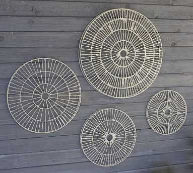 Round Disc Wall Art, S/4 - Pottery Barn