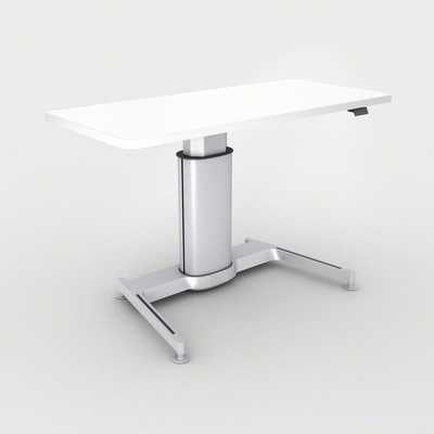 Steelcase Airtouch™ Height Adjustable Standing Desk Finish: True Performance Laminate - Arctic White - Perigold
