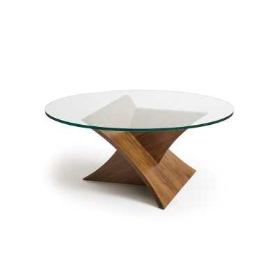 Copeland Furniture Planes Glass Top Coffee Table - Perigold