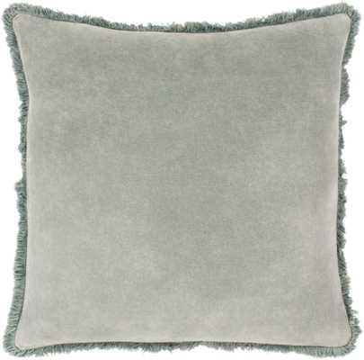 """Reina Pillow, 22""""x 22"""", Sea Foam - Roam Common"""