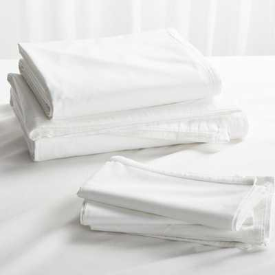 Haven White Queen Bedding Set - Crate and Barrel