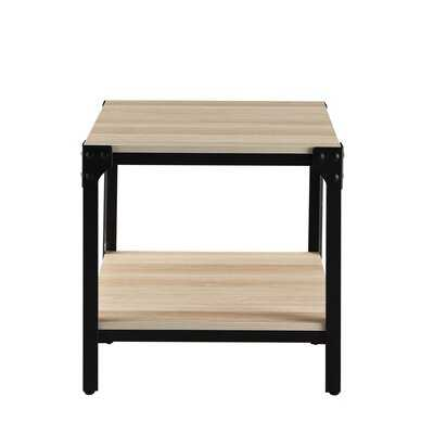 Morant End Table with Storage - Wayfair
