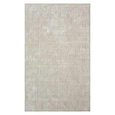 Marled Wool Rug, 8'x10', Oatmeal - Pottery Barn Teen