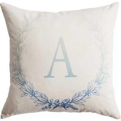 Laurel Square Cotton Pillow Cover & Insert - Wayfair
