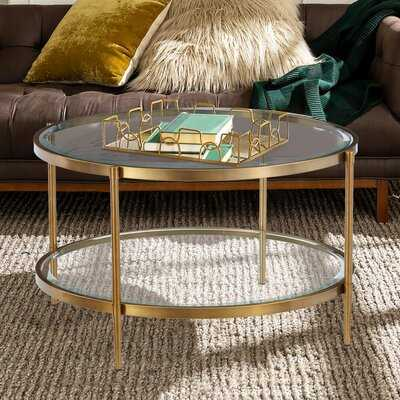 Siegle Coffee Table with Storage - Wayfair