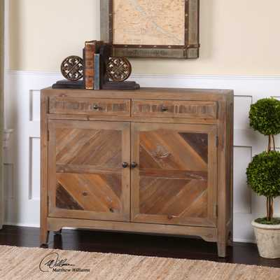 Hesperos Reclaimed Wood Console Cabinet - Hudsonhill Foundry