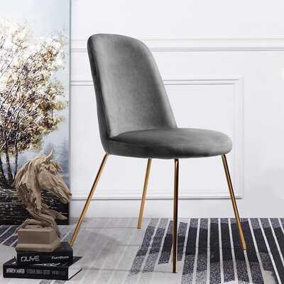 Burleigh Velvet Upholstered Side Chair - Wayfair