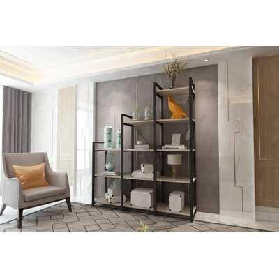 "Gerta 70"" H x 60"" W Step Bookcase - Wayfair"