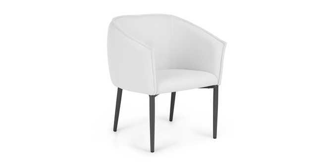 Venn Whisper Gray Dining Chair - Article