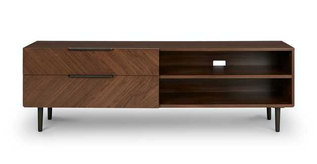 "Nera Walnut 63"" Media Unit - Article"
